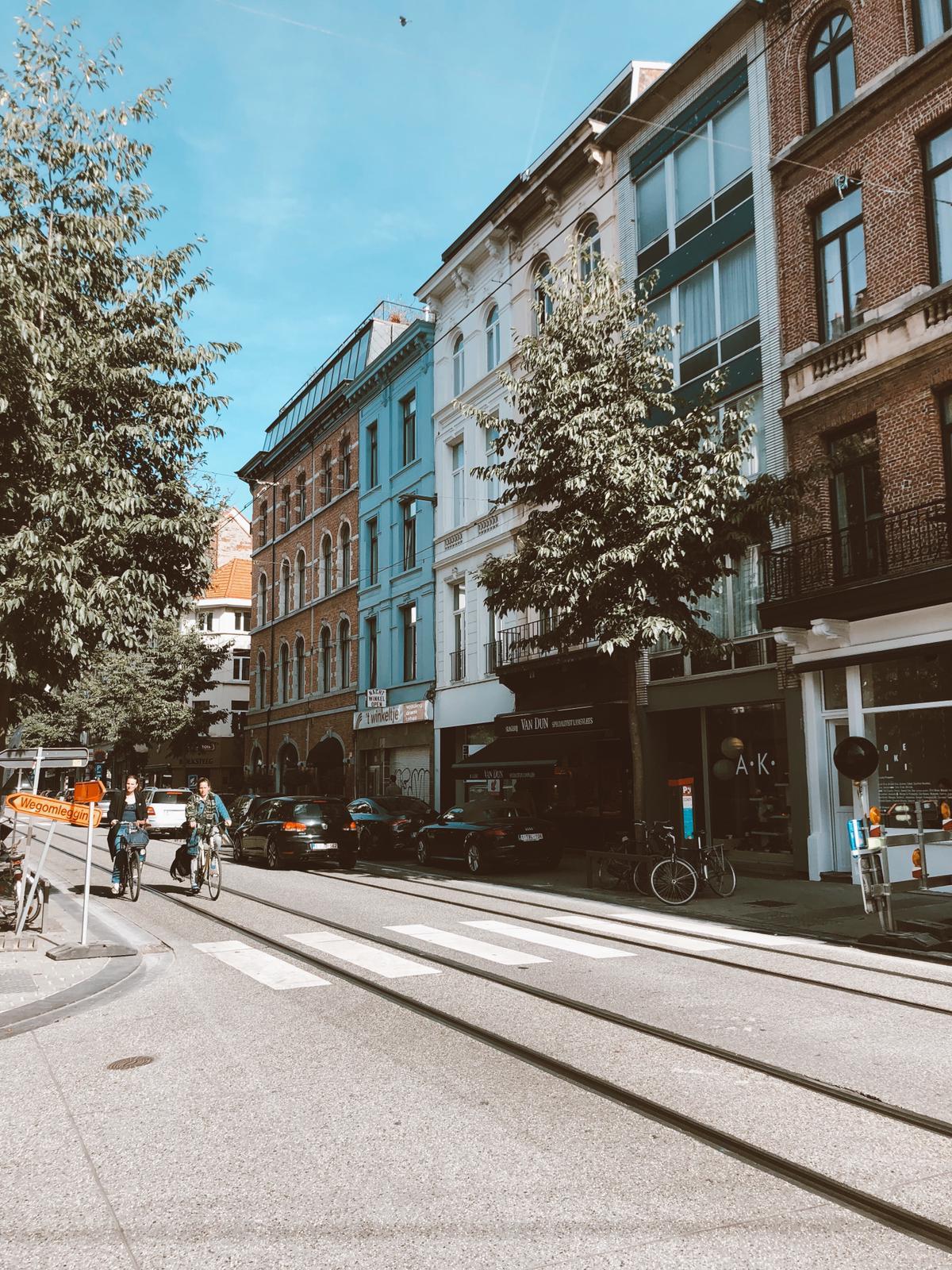 Hotspots in Antwerpen