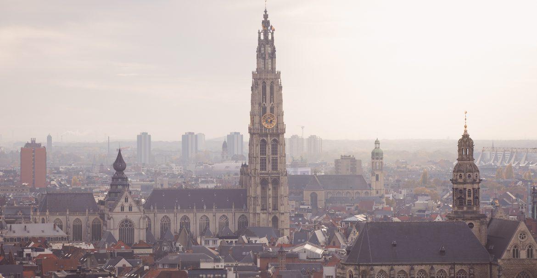 Rooftopbars in Antwerpen