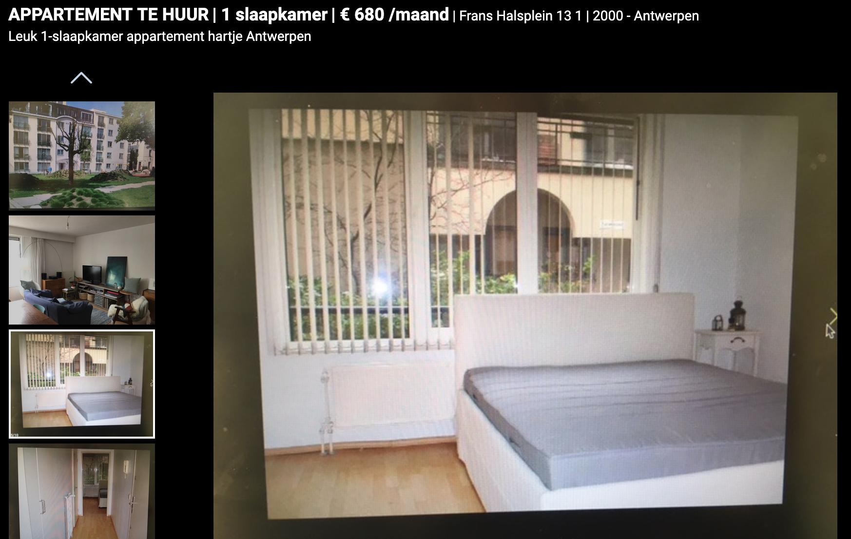 Appartement huren in Antwerpen