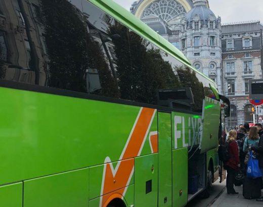 goedkoop naar België met Flixbus