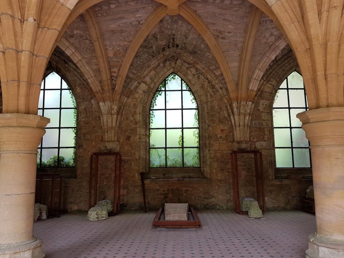 ruïnes abdij van Orval