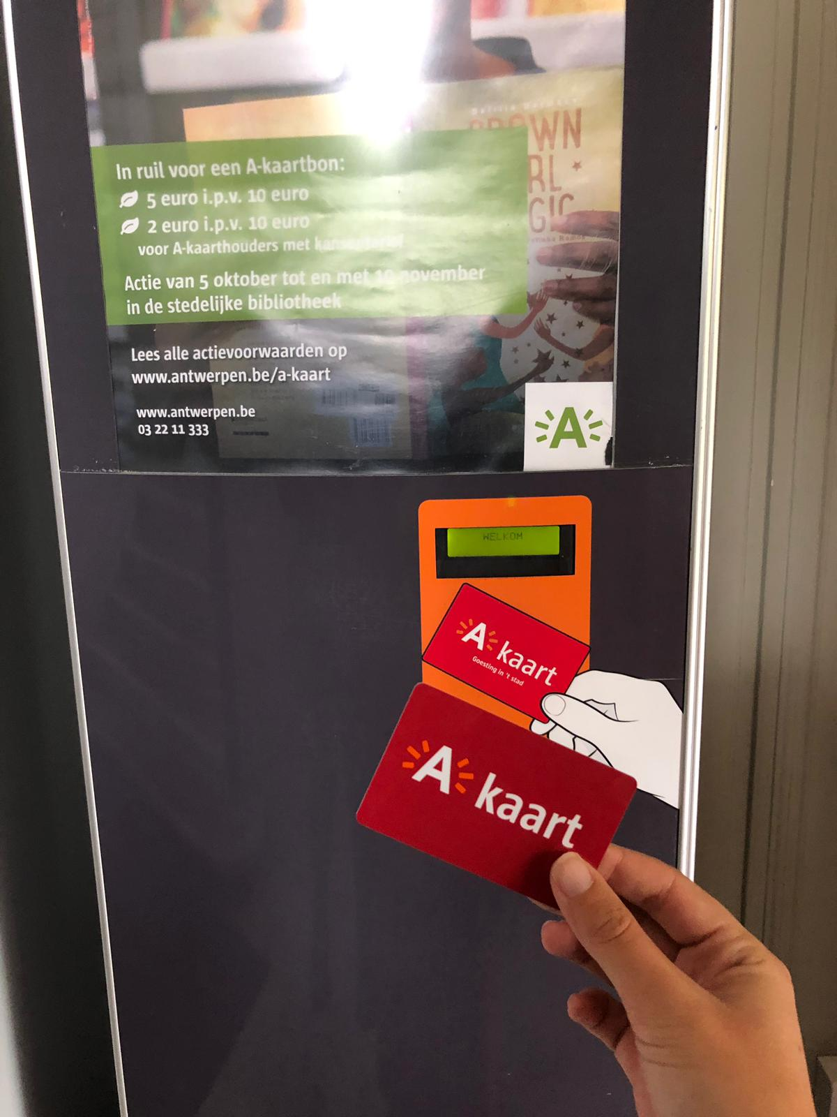 A-kaart