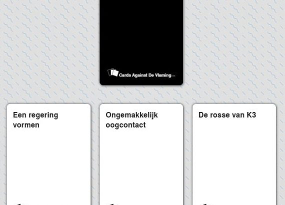 Cards Against de Vlaming